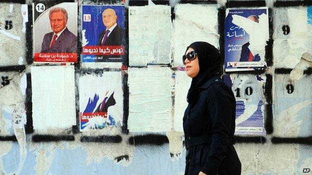 Tunisia in landmark presidency poll...