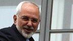 Mohammad Javad Zarif in Vienna, 22 Nov