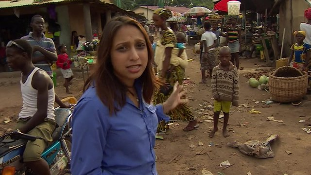 Tulip Mazumdar travels across Sierra Leone to Guinea
