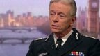 Commissioner of the Metropolitan Police Sir Bernard Hogan-Howe