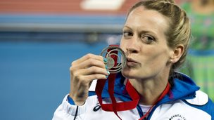 Eilidh Child won a Commonwealth Games silver medal