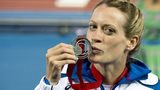 Eilidh Child won a Commonwealth Games silver medal