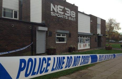 NE38 Sports Bar, Barmston