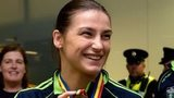 Katie Taylor was an Olympic gold medallist in London