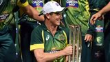 Australia captain George Bailey with trophy after beating South Africa