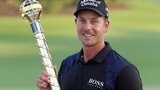 Sweden's Henrik Stenson wins the DP World Tour Championship