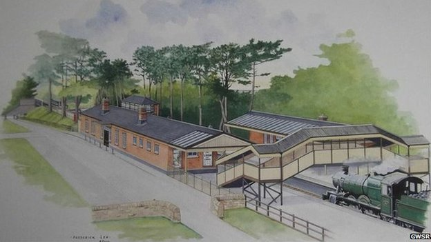 Broadway rail station plans