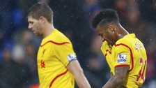 Liverpool duo Steven Gerrard and Raheem Sterling