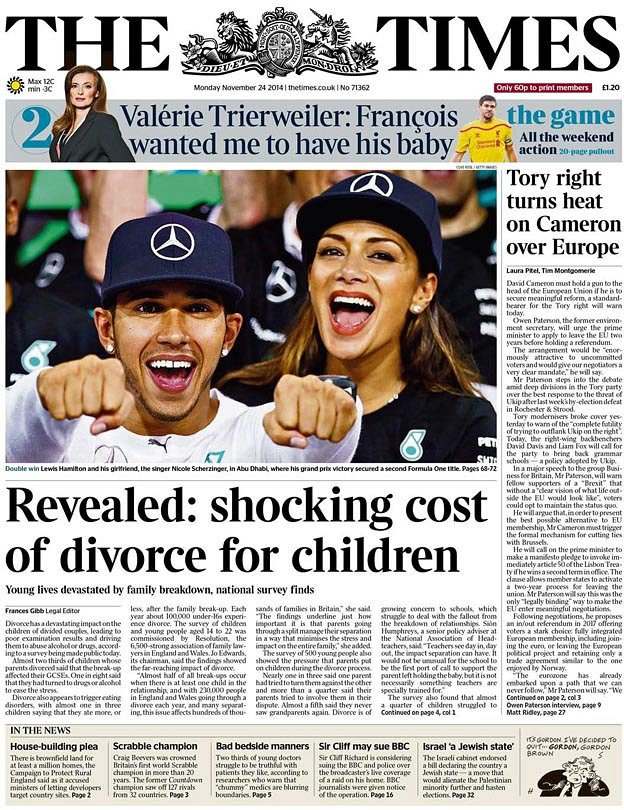 research papers effects of divorce on children