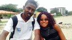 Fanta Camara and Dr Jules Konundoung