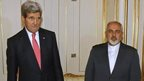 John Kerry and Minister Mohammad Javad Zarif, 23 Nov