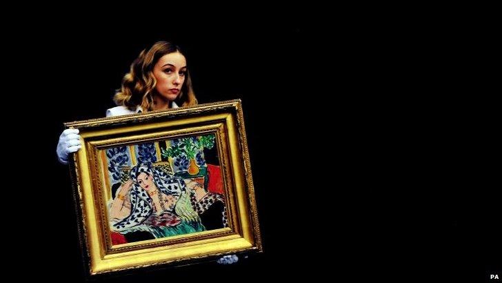Henri Matisse's Odalisque Au Fauteuil Noir