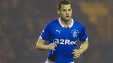 Rangers striker Jon Daly