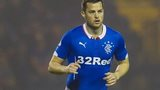 Rangers striker Jon Daly