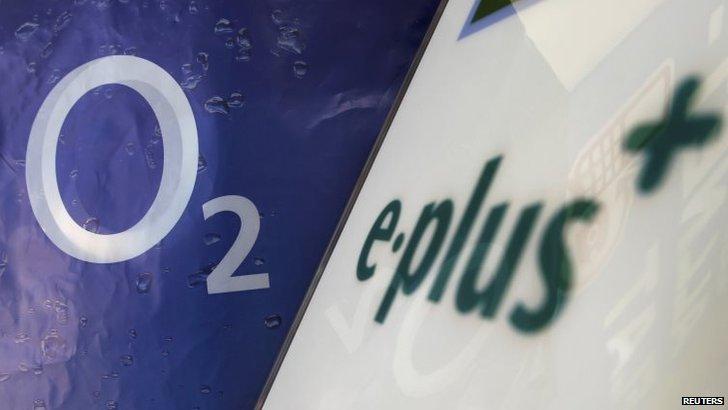 The logo of O2 Deutschland,