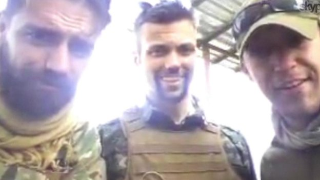 Jamie Read (left) and James Hughes (right) are said to have joined American Jordan Matson in the YPG