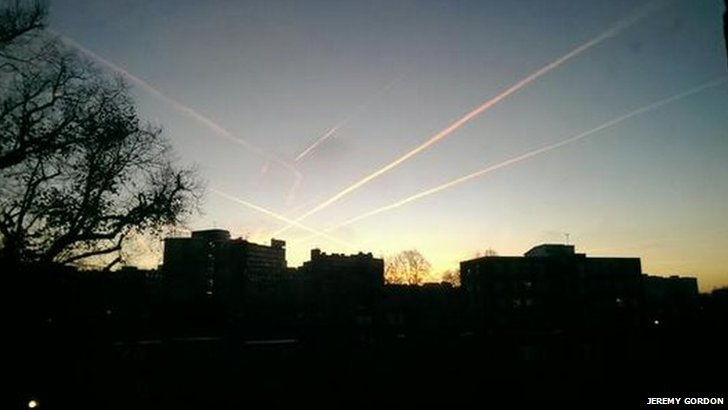 West Hampstead sky line