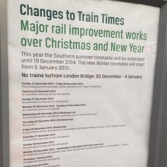 Rail changes