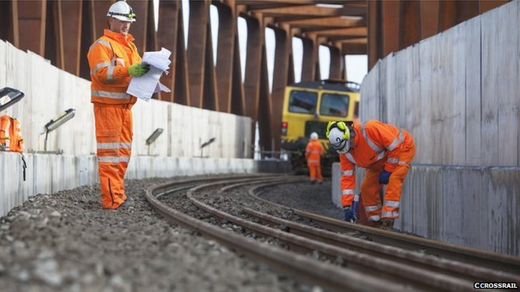 Crossrail engineers