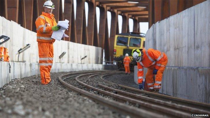 Crossrail engineers