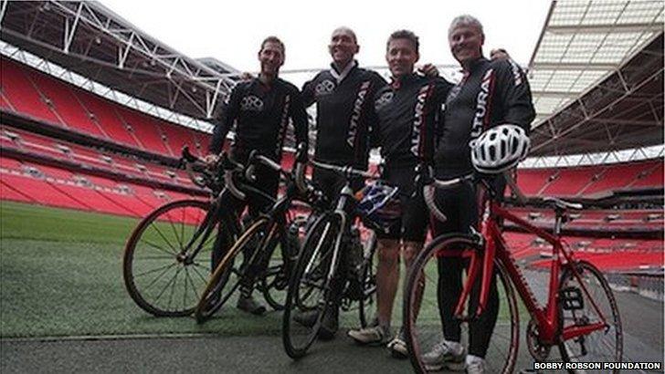 Bike For Bobby team