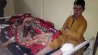 Afghan children are treated at Paktika hospital after suicide attack in the Yahyakhail district of Paktika province east of Kabul, Afghanistan, Sunday, Nov. 23, 2014