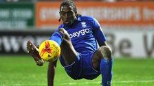 Birmingham City striker Clayton Donaldson