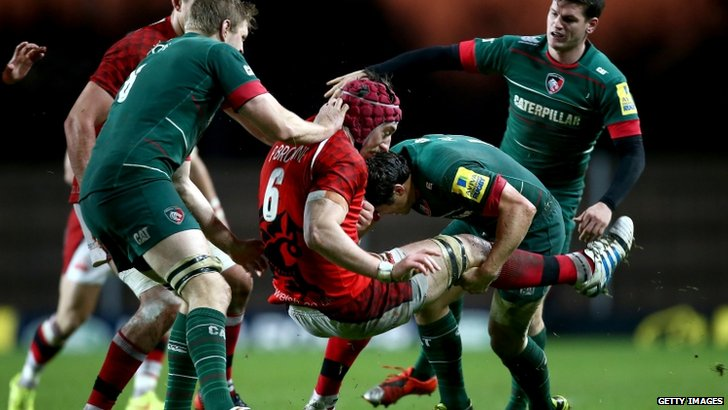 London Welsh vs Leicester Tigers