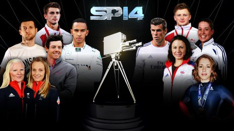 BBC Sports Personality contenders: Kelly Gallagher and Charlotte Evans, Rory McIlroy, Carl Froch, Lewis Hamilton, Max Whitlock, Adam Peaty, Gareth Bale, Charlotte Dujardin, Jp Pavey, Lizzy Yarnold