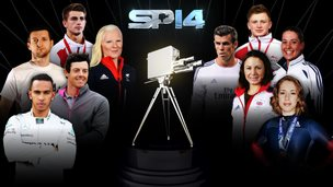 BBC Sports personality contenders: Lewis Hamilton, Rory McIlroy, Carl Froch, Max Whitlock, Kelly Gallagher, Lizzy Yarnold, Jo Pavey, Charlotte Dujardin, Gareth Bale, Max Whitlock