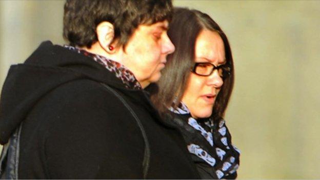 Rachael Regan and Deborah McDonald