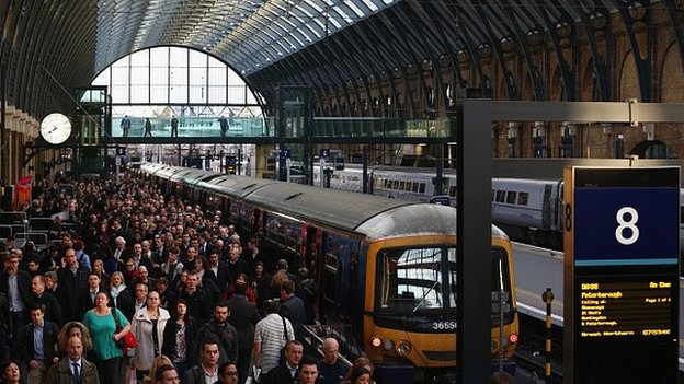 Report terror threats, commuters urged...