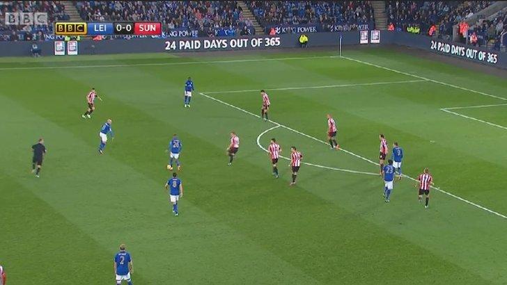 Leicester v Sunderland
