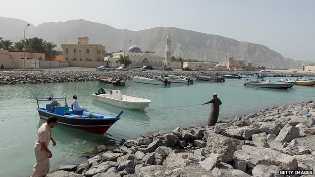 Fishermen in Oman