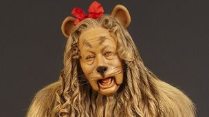 Cowardly Lion costume from the film The Wizard of Oz