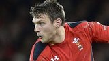 Dan Biggar in action for Wales