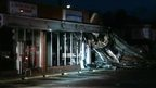 Riot damaged building, Ferguson