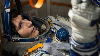 Astronaut Samantha Cristoforetti