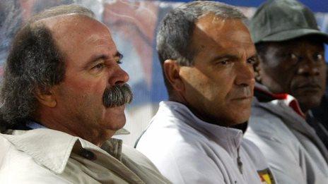 Artur Jorge (left)