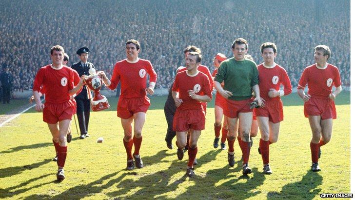 Liverpool FC in the 1963/64 season