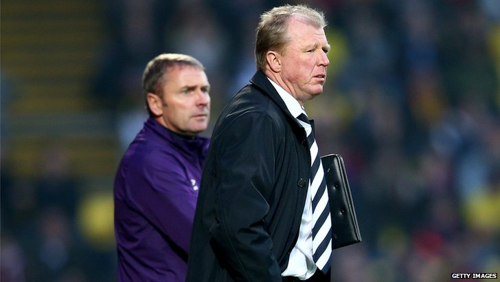 Paul Simpson and Steve McClaren