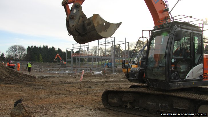 Foundations being laid