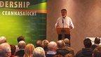 Gerry Adams at Enniskillen event