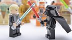 Lego scene from Star Wars