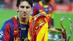 Messi breaks Champions League record