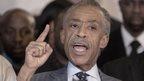 Civil rights leader Rev Al Sharpton