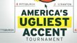 A poster showing America's ugliest accent tournament