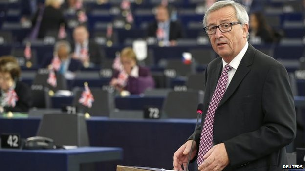 European Commission President Jean-Claude Juncker (26 Nov)