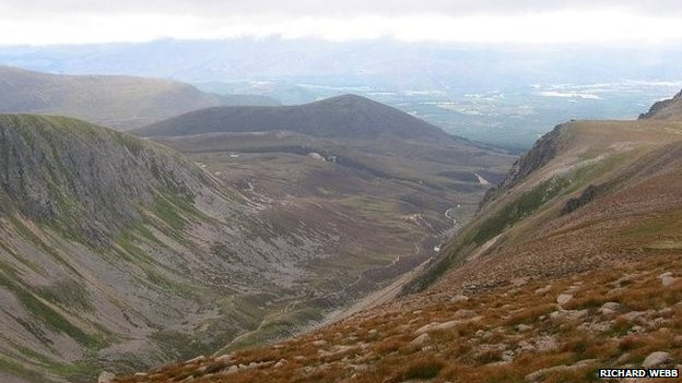 The runner was found in the Lairg Ghru area