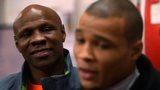 Chris Eubank Sr and his son Chris Jr